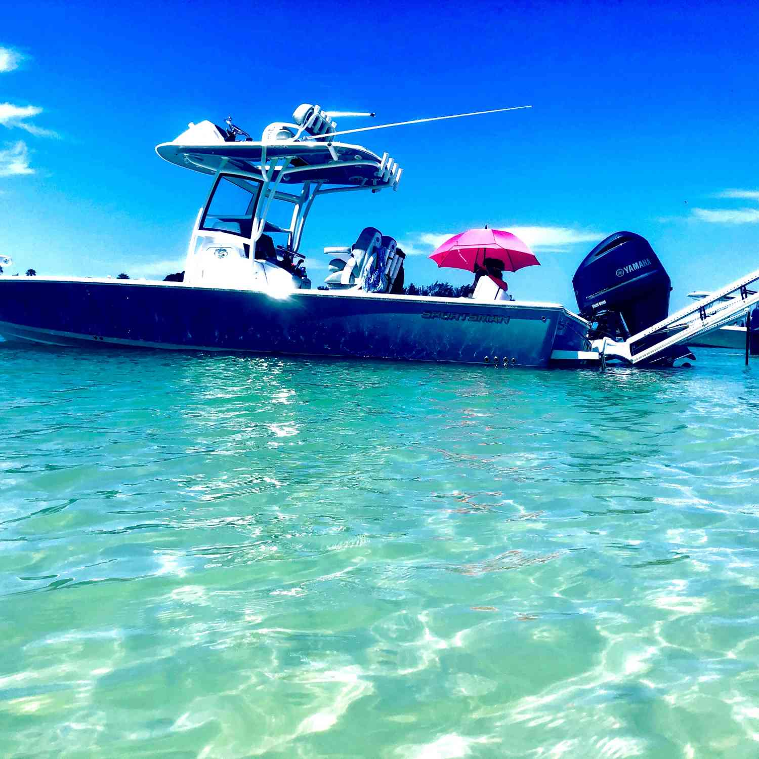 Our 267 Masters is our favorite place to be on a Sunday. Jewfish key do just inside longboat pass. We...