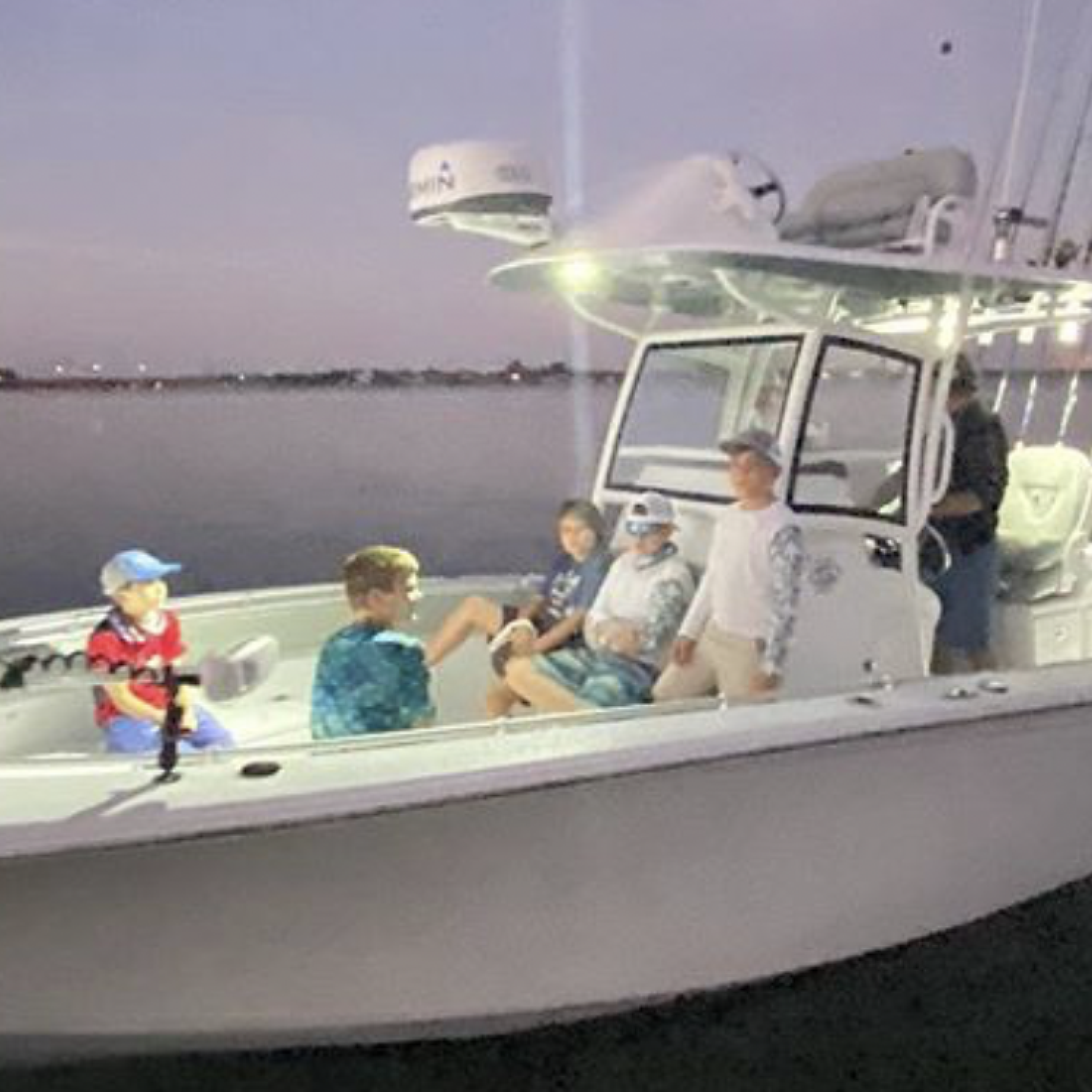 Title: Big day comin up!! - On board their Sportsman Open 282 Center Console - Location: Sarasota Florida. Participating in the Photo Contest #SportsmanJune2021