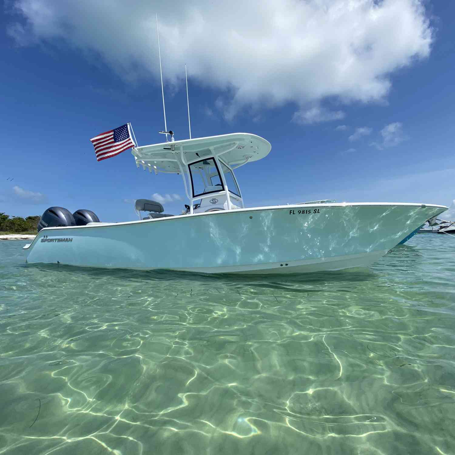 Title: Clear Water! - On board their Sportsman Open 252 Center Console - Location: Egmont Key, Florida. Participating in the Photo Contest #SportsmanMarch2021
