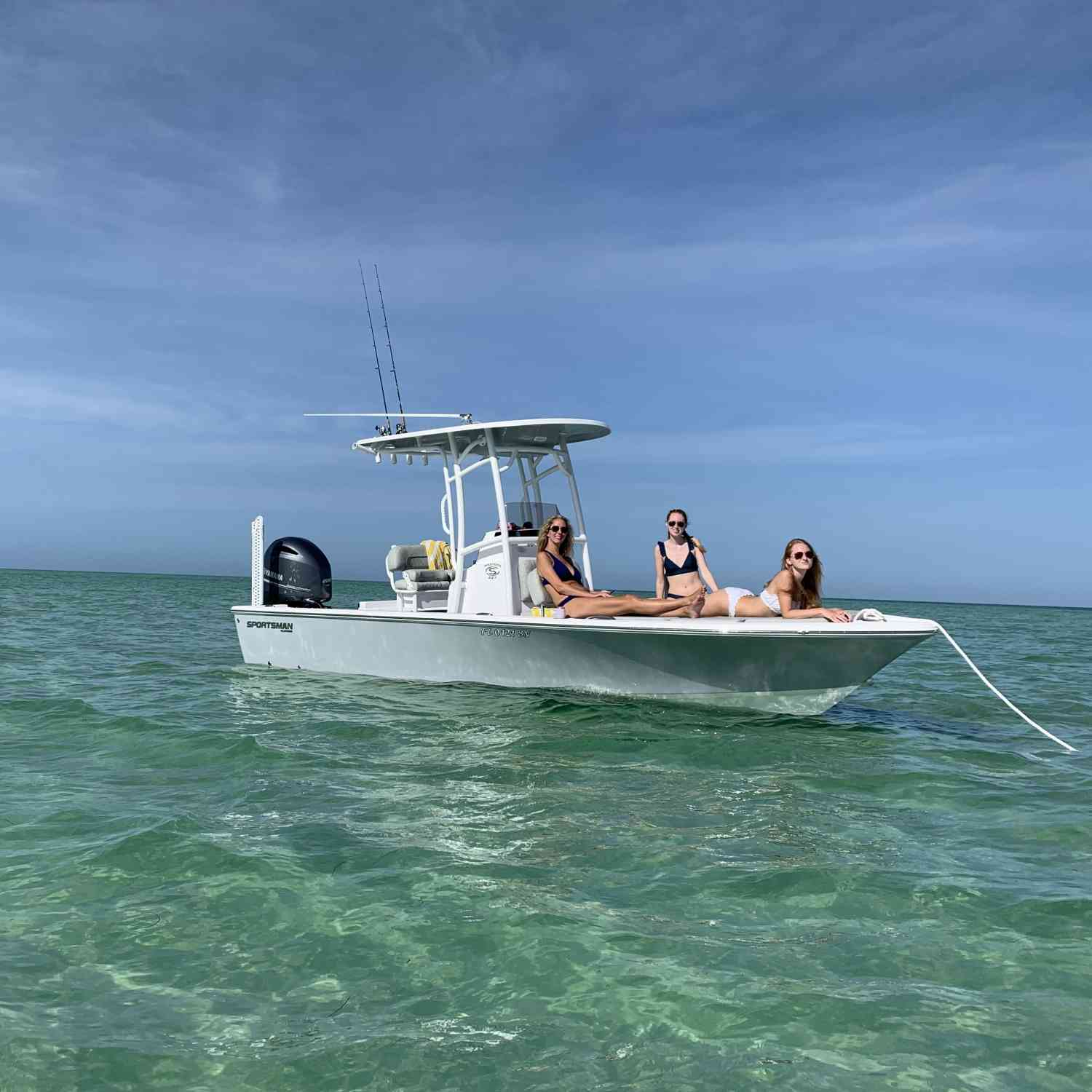 Great day on the water with a great boat!  Happy wife and kids, happy life!