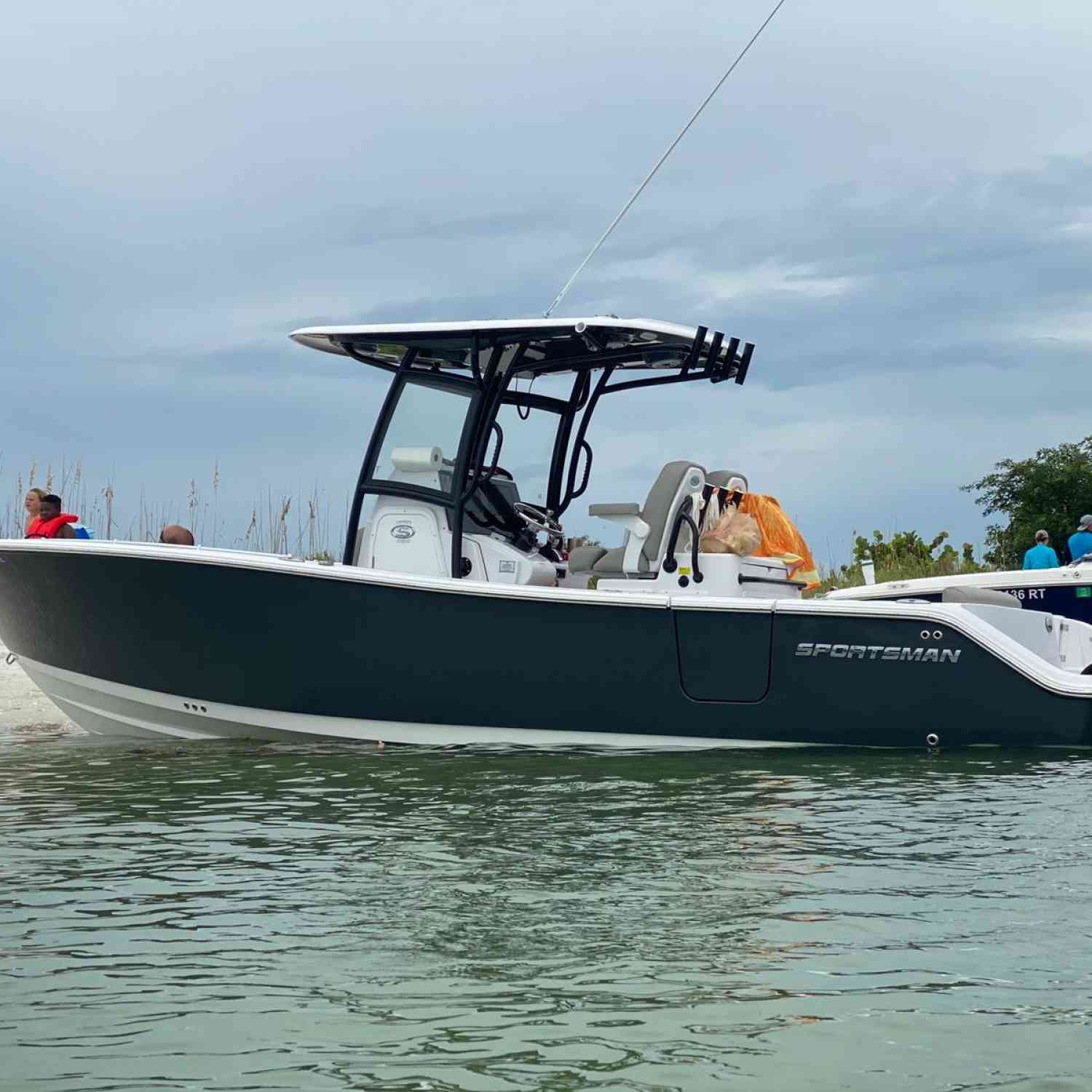 Title: Weekend Getaway - On board their Sportsman Open 282 Center Console - Location: Keewaydin Island, Florida. Participating in the Photo Contest #SportsmanMay2021