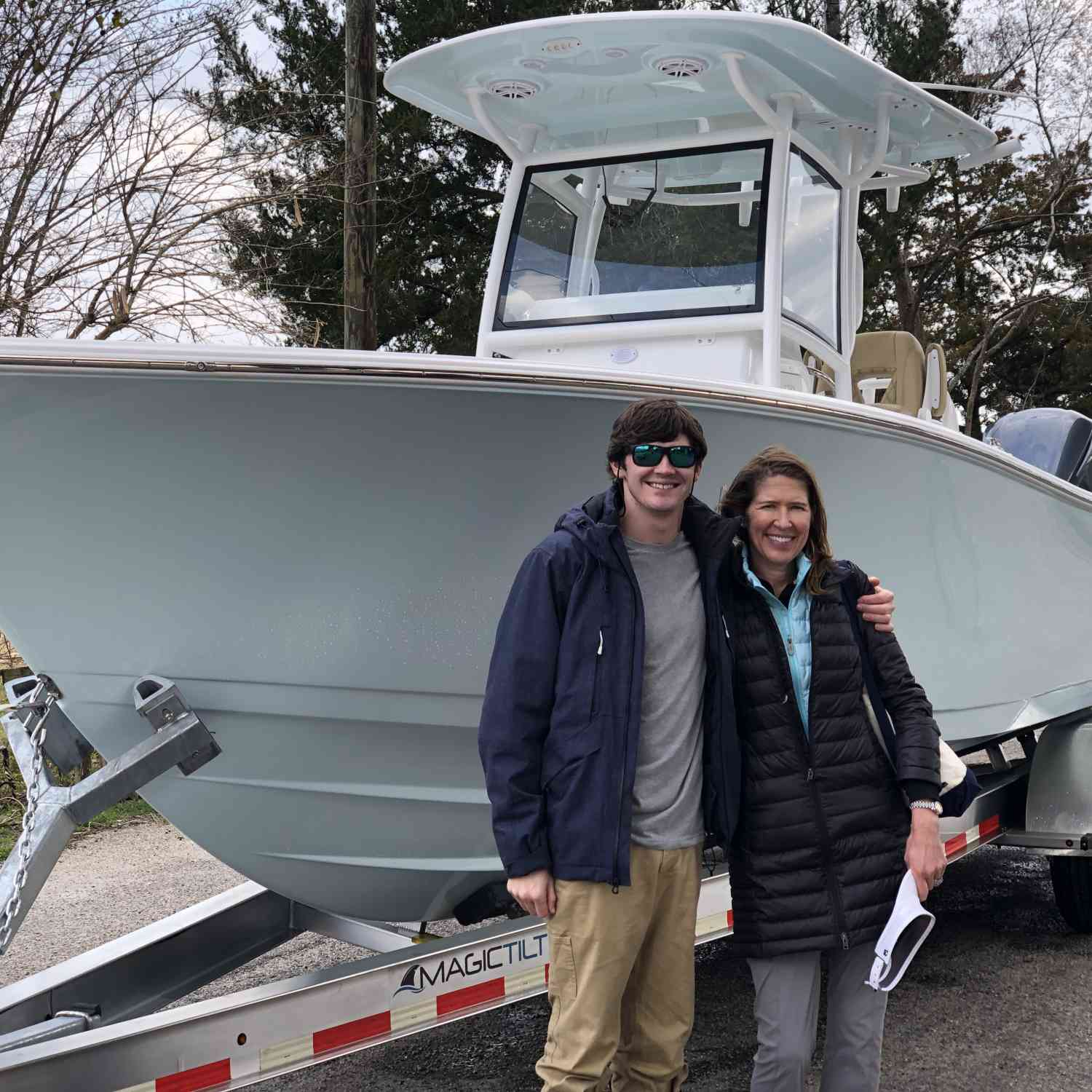 Title: New Adventure 2021 - On board their Sportsman Open 282 Center Console - Location: Little River SC. Participating in the Photo Contest #SportsmanMay2021