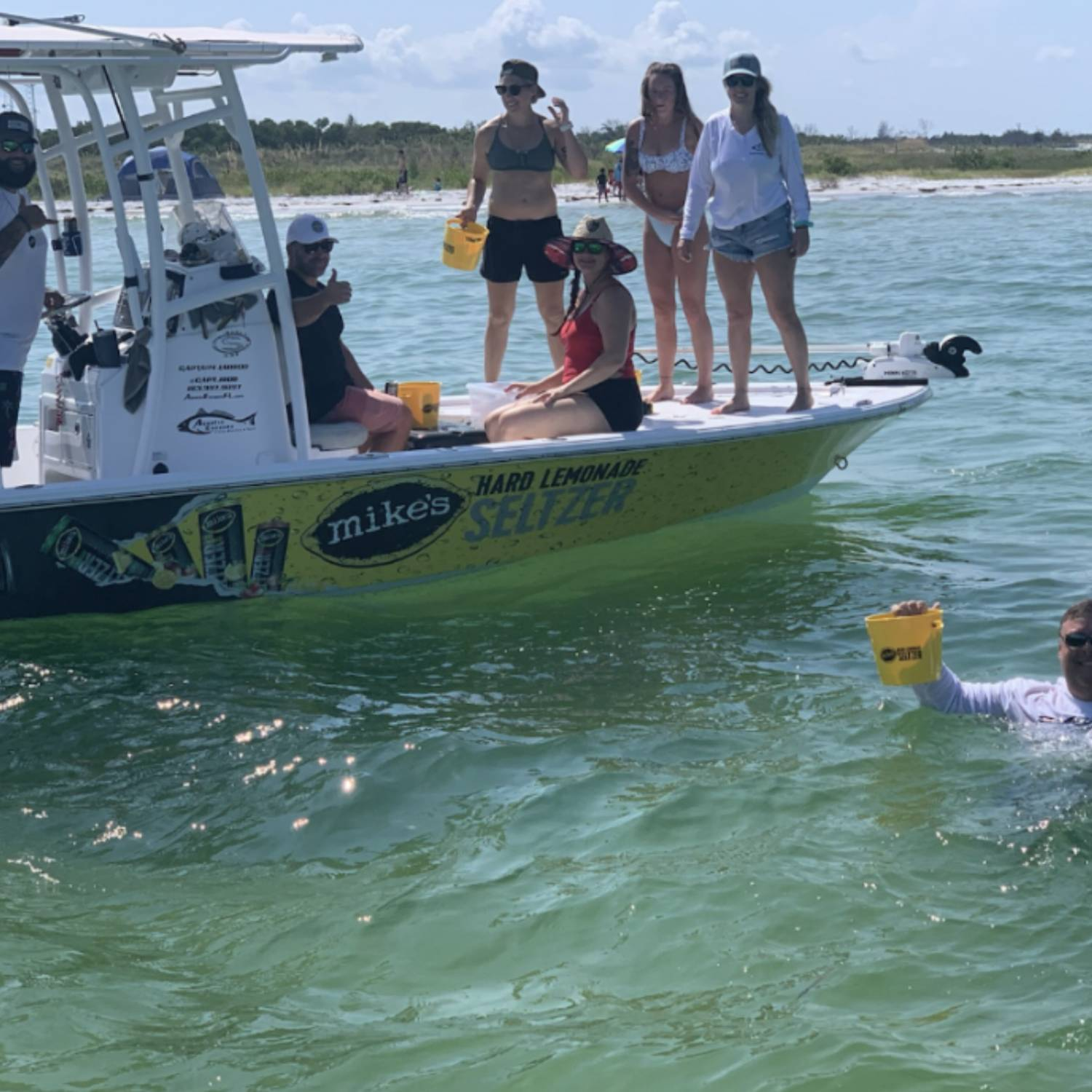 Title: Perfect Boats for Professionals! - On board their Sportsman Tournament 234 Bay Boat - Location: Tampa Bay. Participating in the Photo Contest #SportsmanSeptember2021