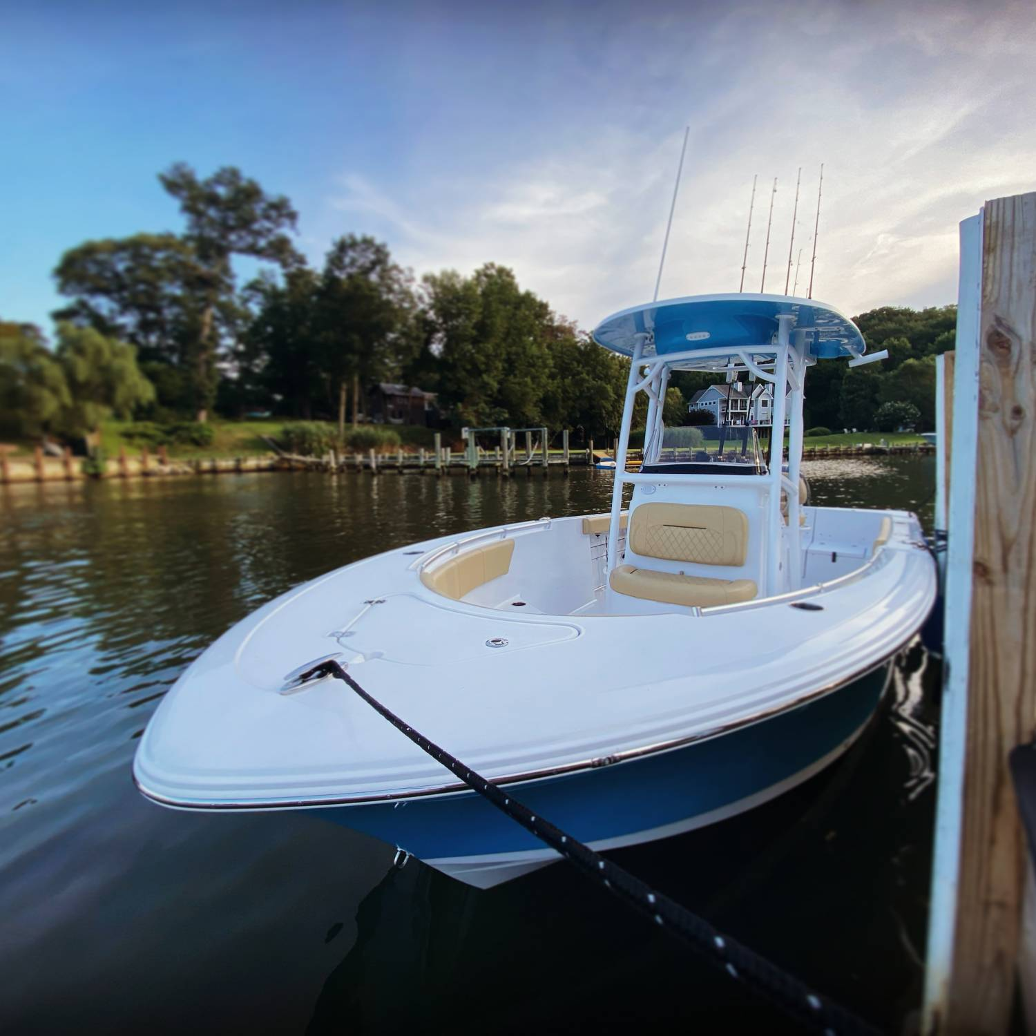 Title: Sunset over Annapolis - On board their Sportsman Heritage 231 Center Console - Location: Annapolis Maryland. Participating in the Photo Contest #SportsmanSeptember2021