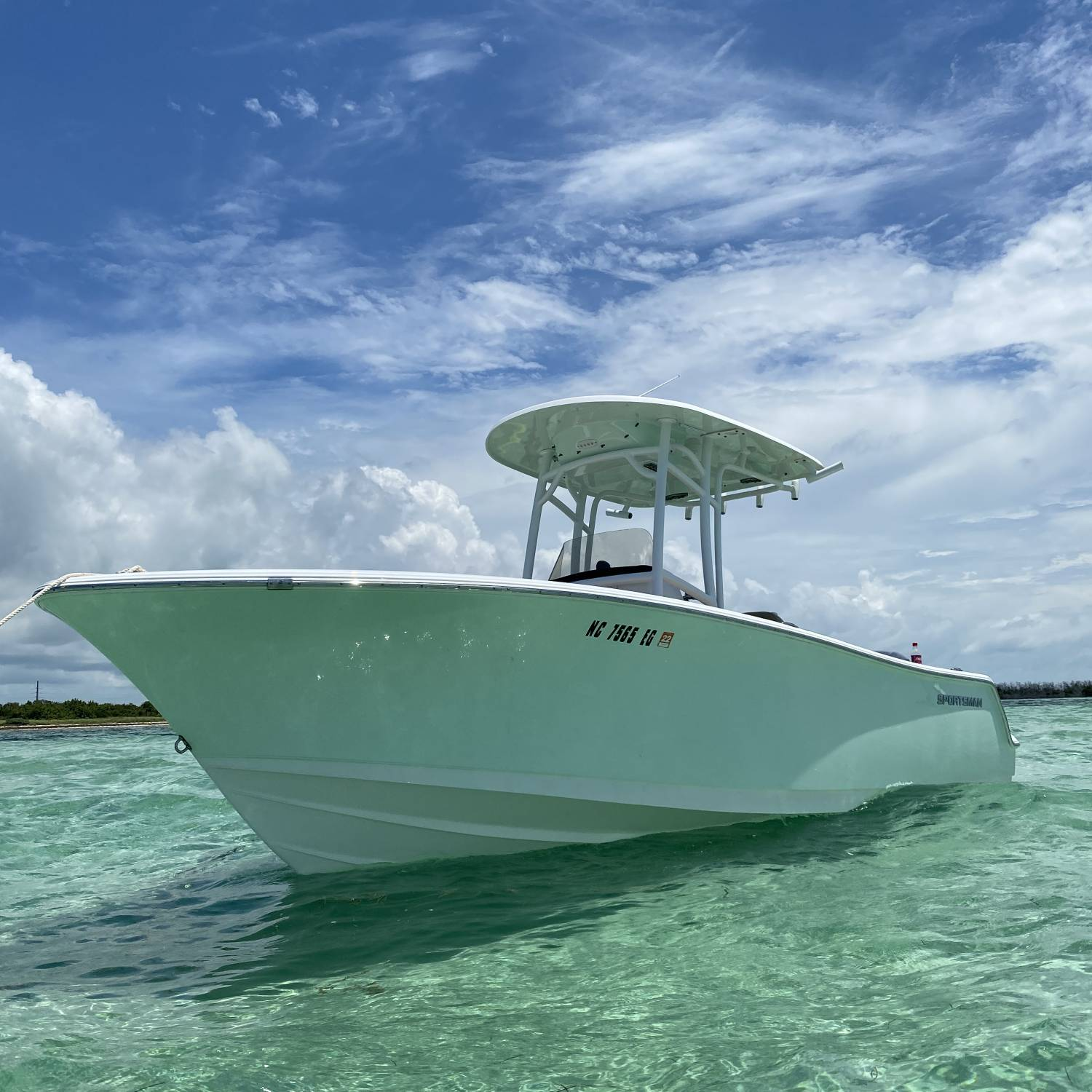 Beautiful day on the water in the Florida Keys!